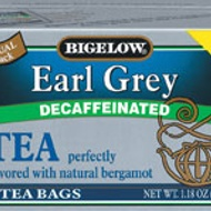Earl Grey Decaf from Bigelow