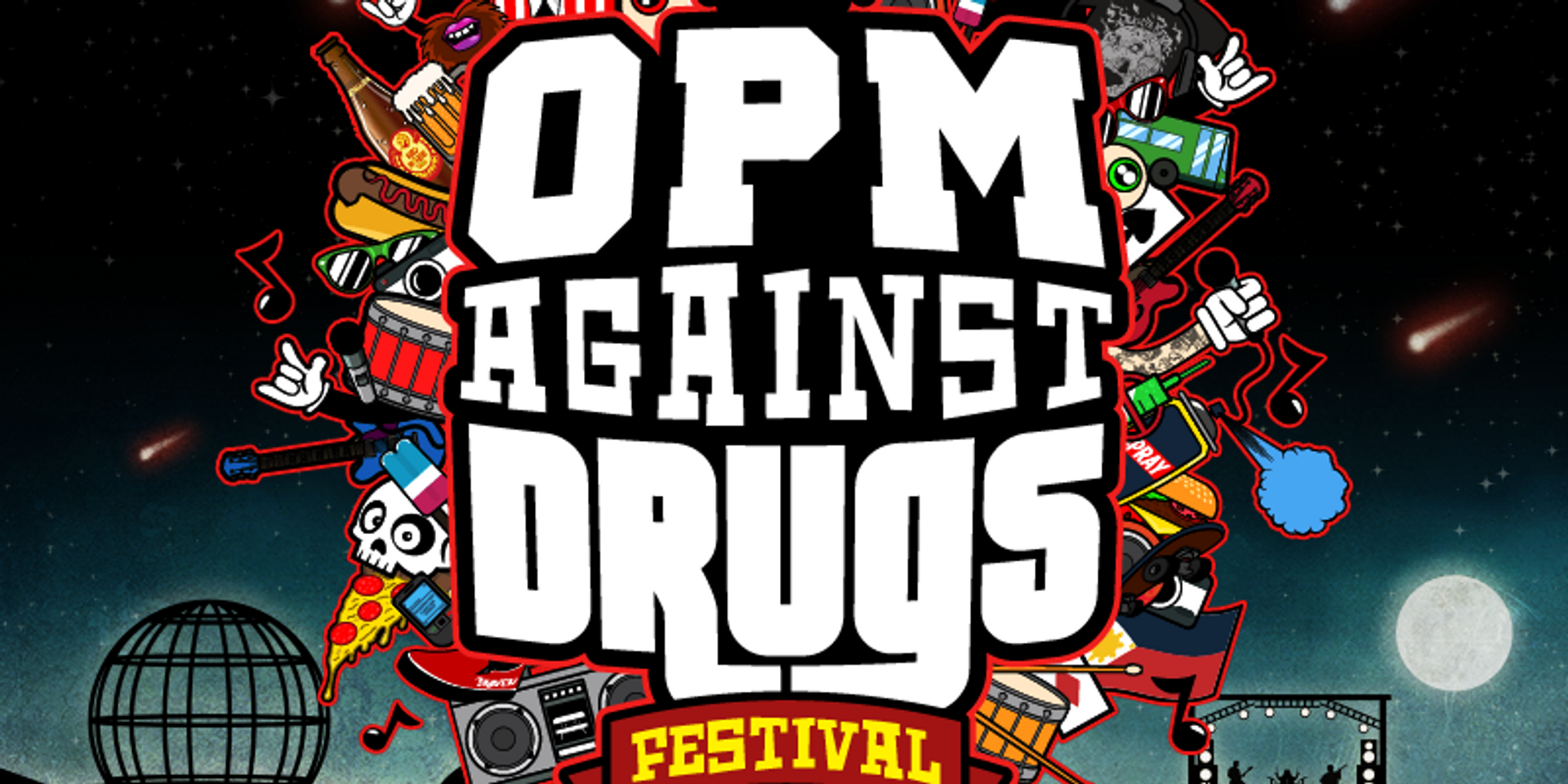 Rakrakan Festival takes on a new advocacy with OPM Against Drugs Festival