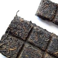 2012 MGH 1203 Imperial Ripe Pu-erh Tea Brick from PuerhShop.com