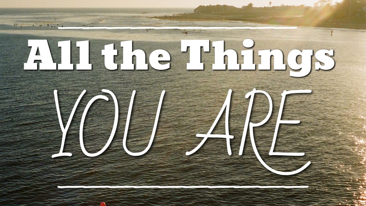 All the Things You Are - thumbnail