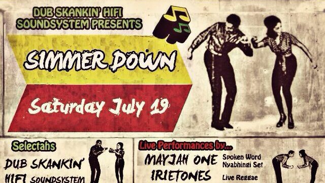 Dub Skank'in Hifi Soundsystem presents Simmer Down