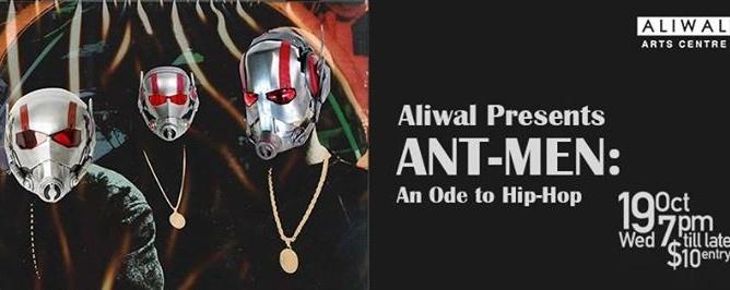 Aliwal Presents: Ant-Men