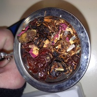 Bilberry rooibos from Tea Merchant 101-Hollidaysburg PA-Not sure of brand he uses
