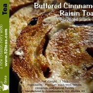 Buttered Cinnamon Raisin Toast Flavored Black Tea from 52teas