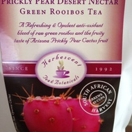 Organic Prickly Pear Desert Nectar Green Rooibos Tea from Herbescent