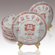 2010 MENGHAI DAYI 7452 RIPE PU-ERH CAKE - 357G from Menghai Tea Factory(jastea)