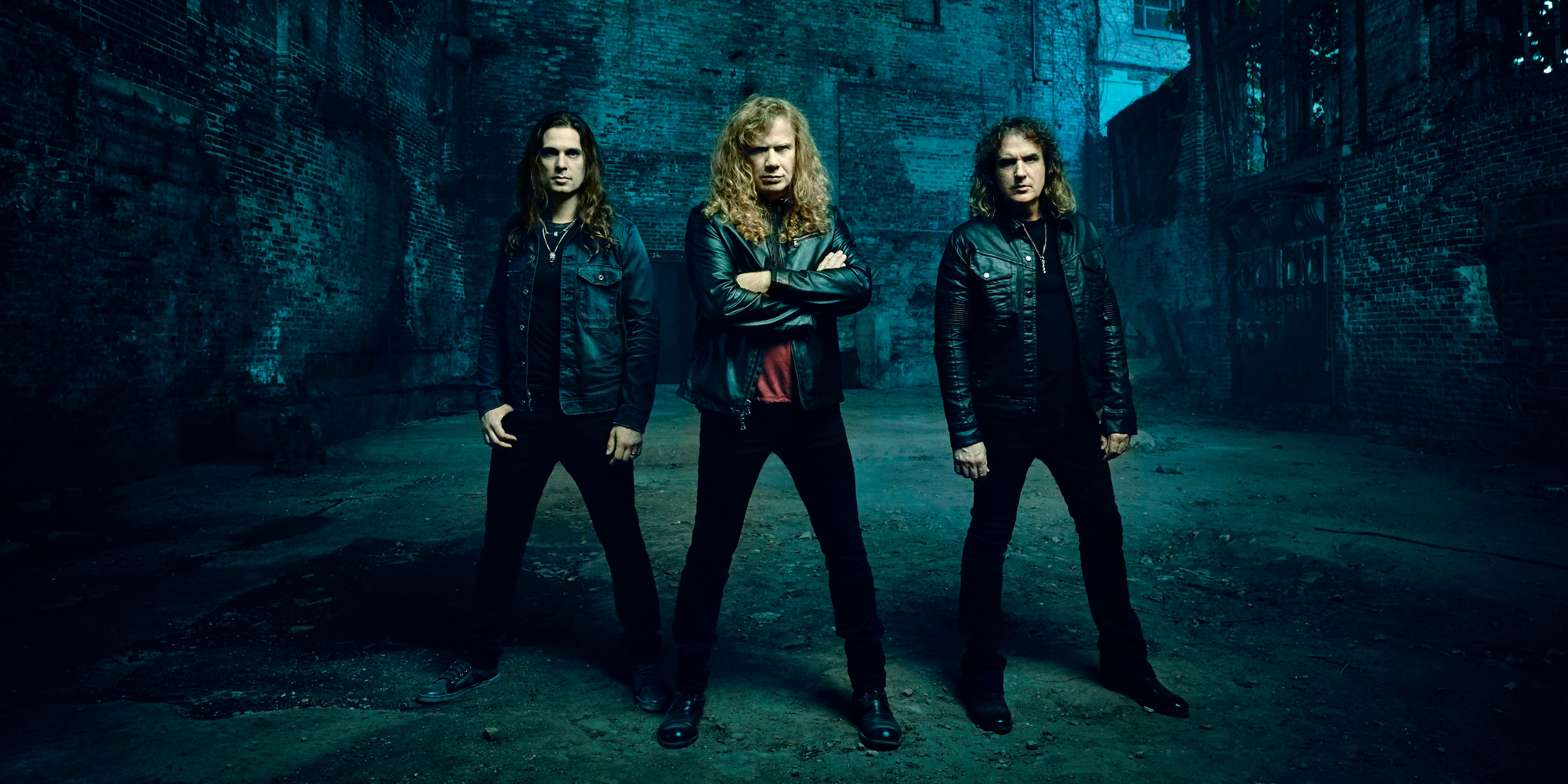 Thrash metal pioneers Megadeth brings their Dystopia World Tour to Singapore