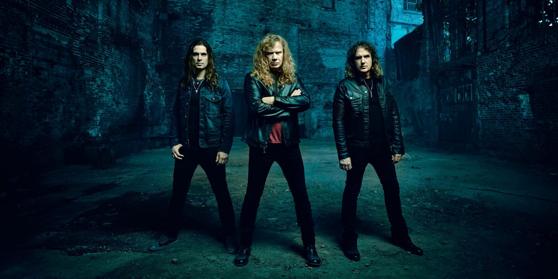 Thrash metal pioneers Megadeth brings their Dystopia World Tour to Singapore