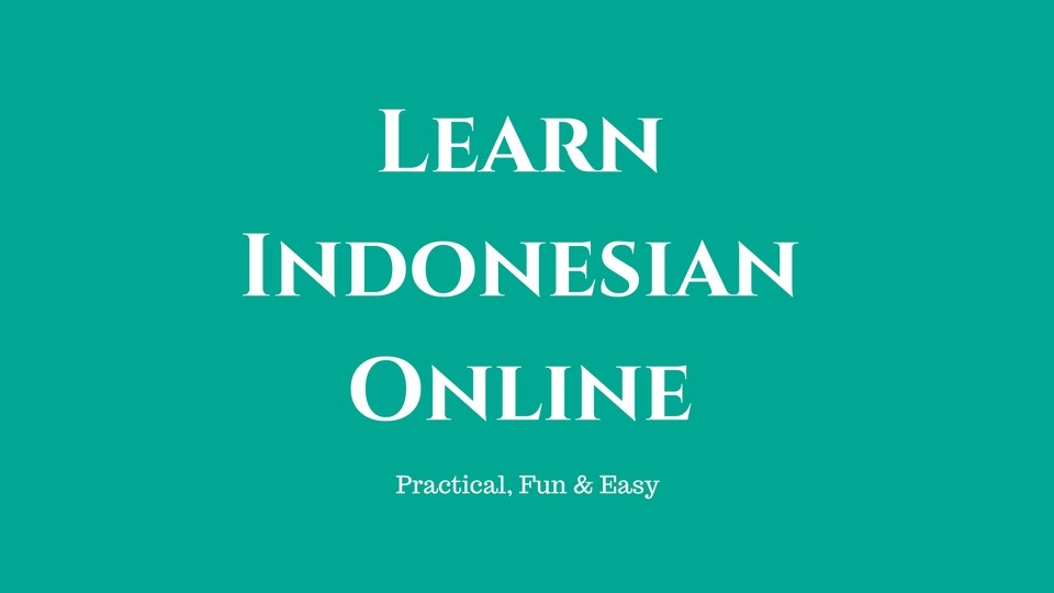 learning indonesian coupon code