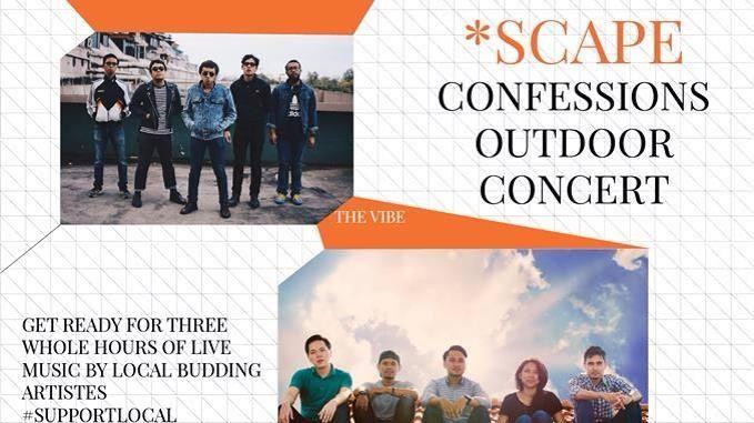 *SCAPE Confessions Outdoor Concert
