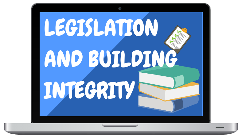 Certifying Plumbing Exam Refresher Course - Legislation and Building Integrity