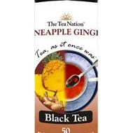 Pineapple Ginger black tea from The Tea Nation