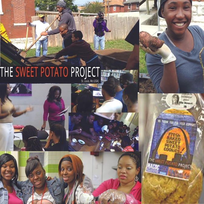 The Sweet Potato Project: Planting Produce*Making Products*Creating Young Entrepreneurs