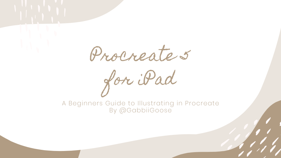 Procreate for iPad by @GabbiiGoose