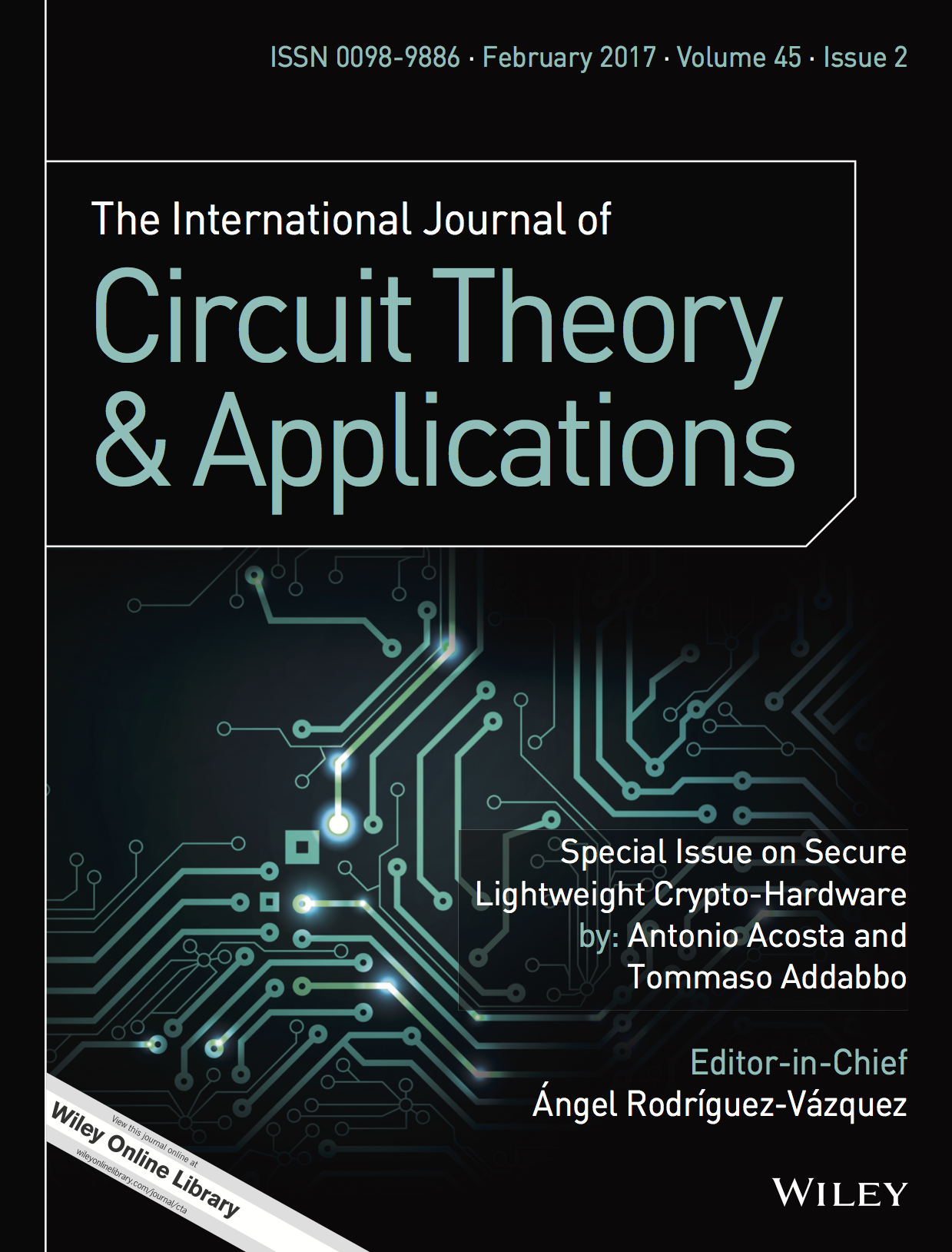 Template for submissions to International Journal of Circuit Theory and Applications