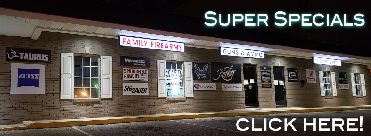 Family Firearms | Guns - Ammo - Optics - Accessories | Troy, AL