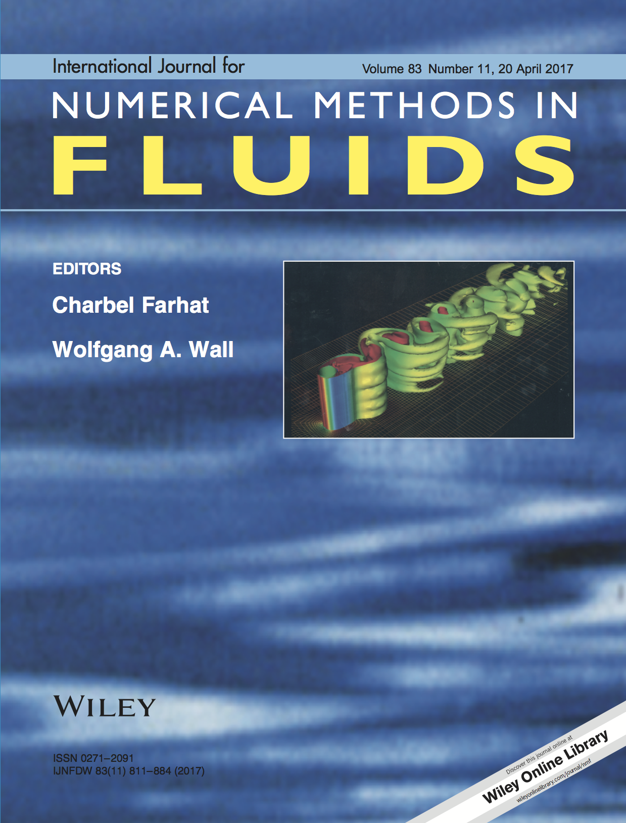 Template for submissions to International Journal for Numerical Methods in Fluids