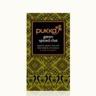 Green Spiced Chai from Pukka
