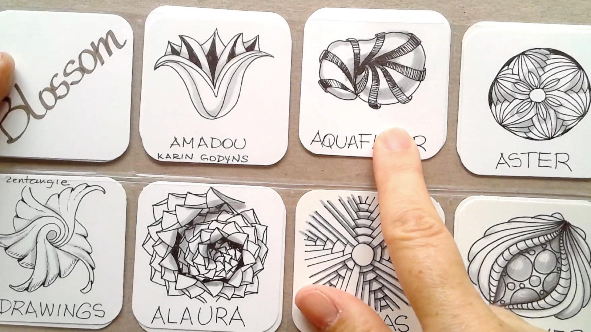 Radial Blossoms Lesson Bundle | Eni Oken's Online Art Classes