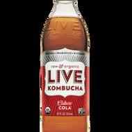 Cola from Live Kombucha