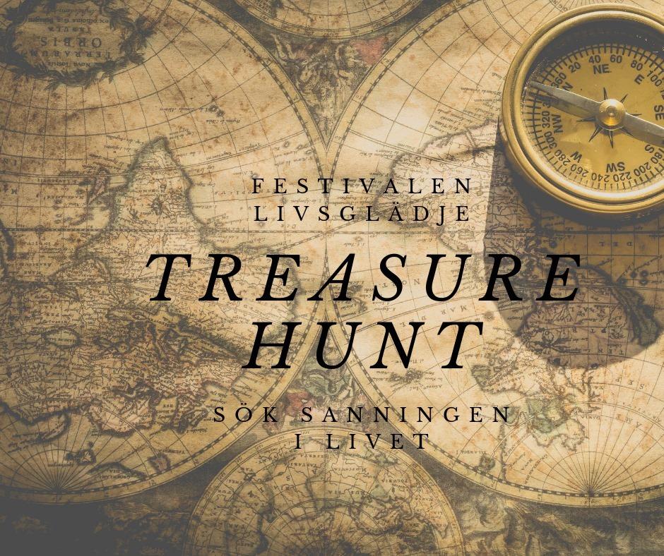 """Här kan du betala vandringen """"Treasure hunt"""""""