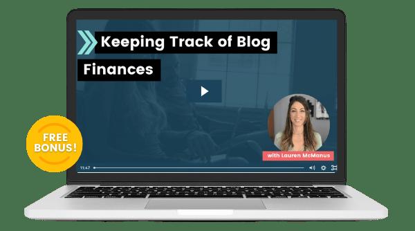 blog finances bonus