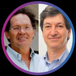 Hélio Teixeira e Mario Salerno USP