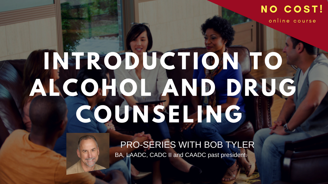 Introduction To Alcohol And Drug Counseling No Cost Training With