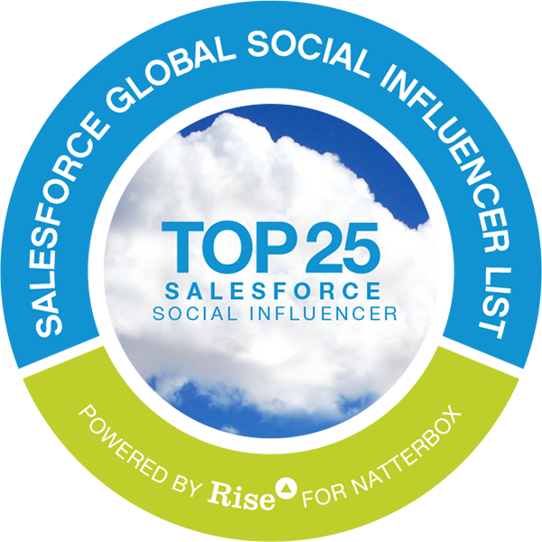 #salesforce Power Social Influencers (Top 500)