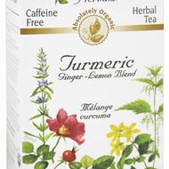 Organic Caffeine Free Turmeric Ginger-Lemon Blend Herbal Tea from Celebration Herbals