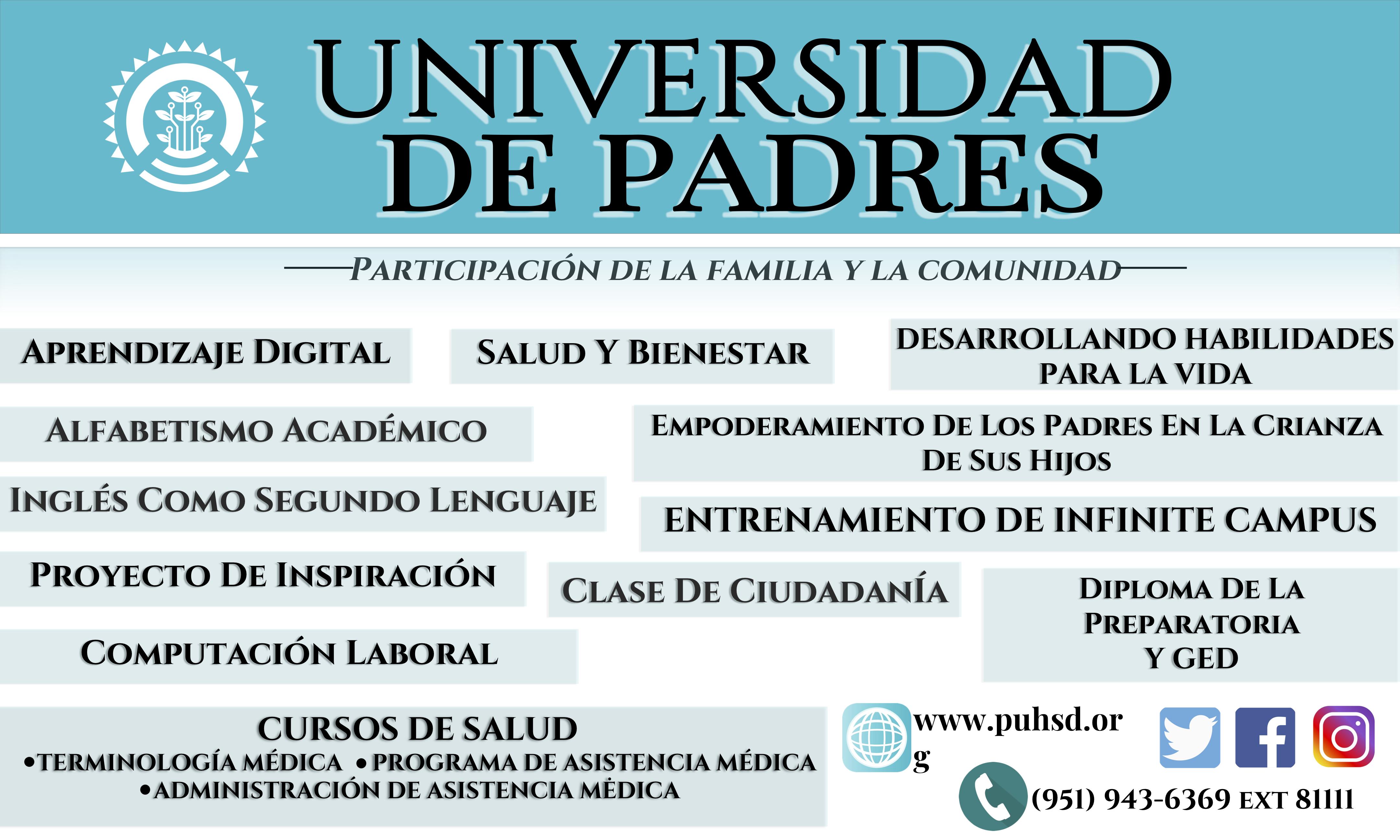Parent University Banner Spanish.png