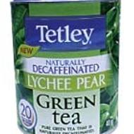 Lychee Pear from Tetley