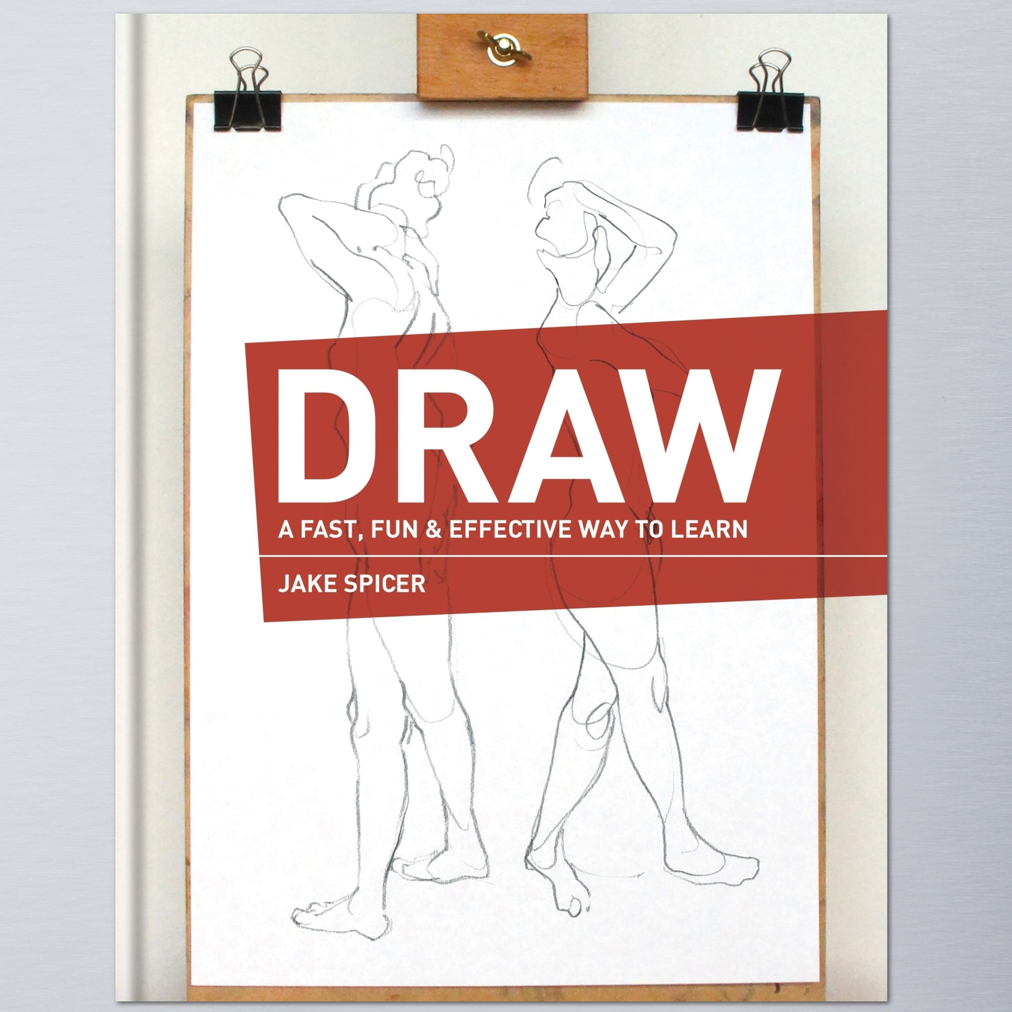 DRAW book -  how to draw course with Jake Spicer on Yodomo