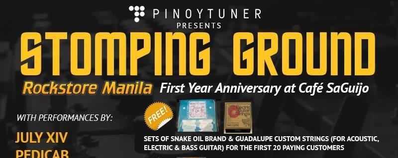 Rockstore Manila First Year Anniversary at Saguijo