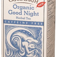 Organic Good Night Herbal Tea from Good Earth