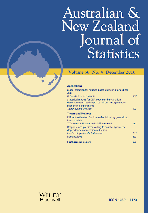 Template for submissions to Australian & New Zealand Journal of Statistics