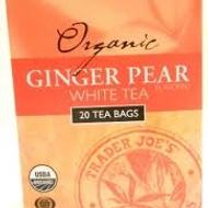 Trader Joe's Organic Ginger Pear White from Trader Joe's