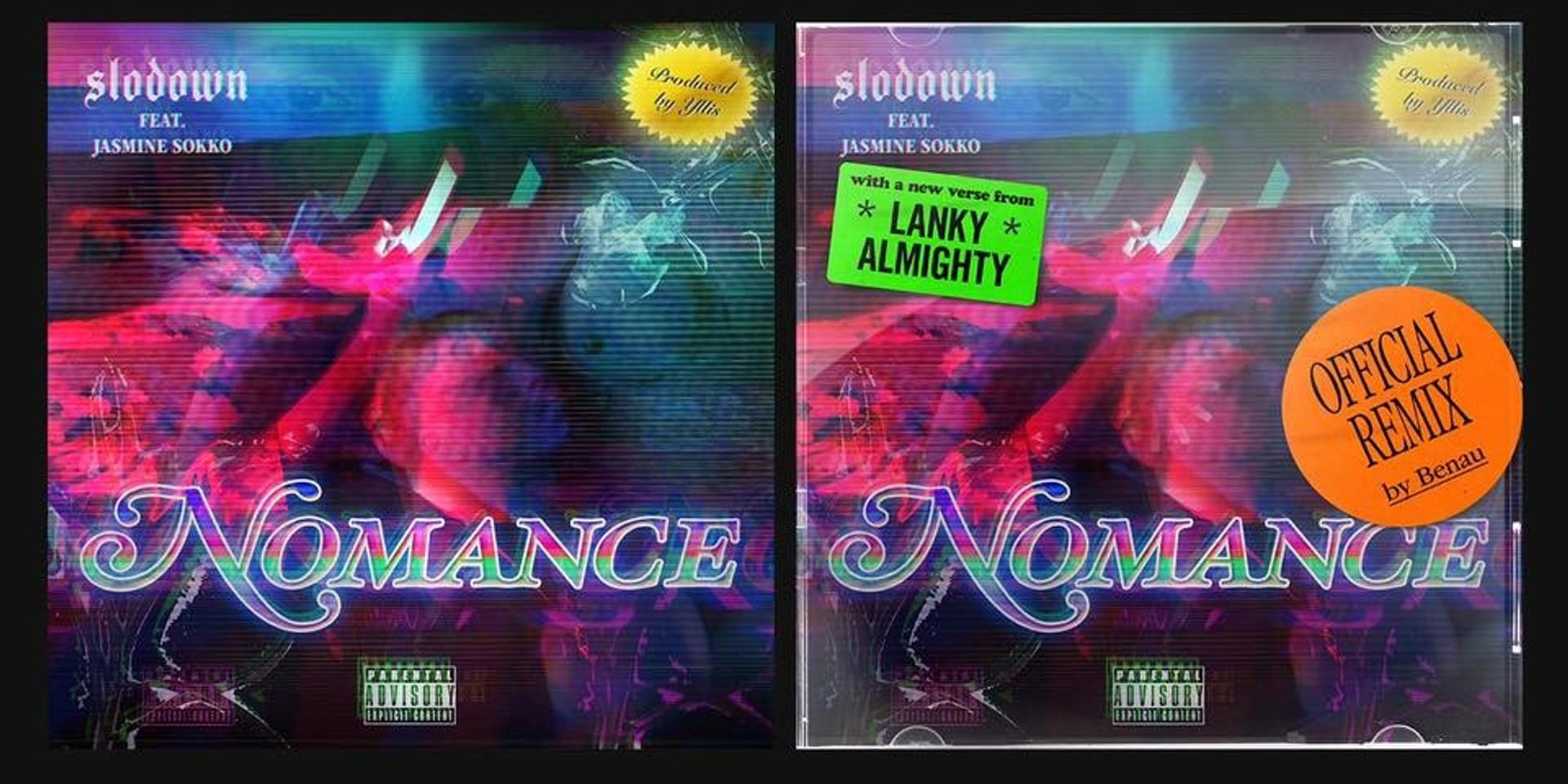 LISTEN: Toronto beatsmith Benau & NYC rapper Lanky Almighty remix Slodown & Jasmine Sokko's 'Nomance'