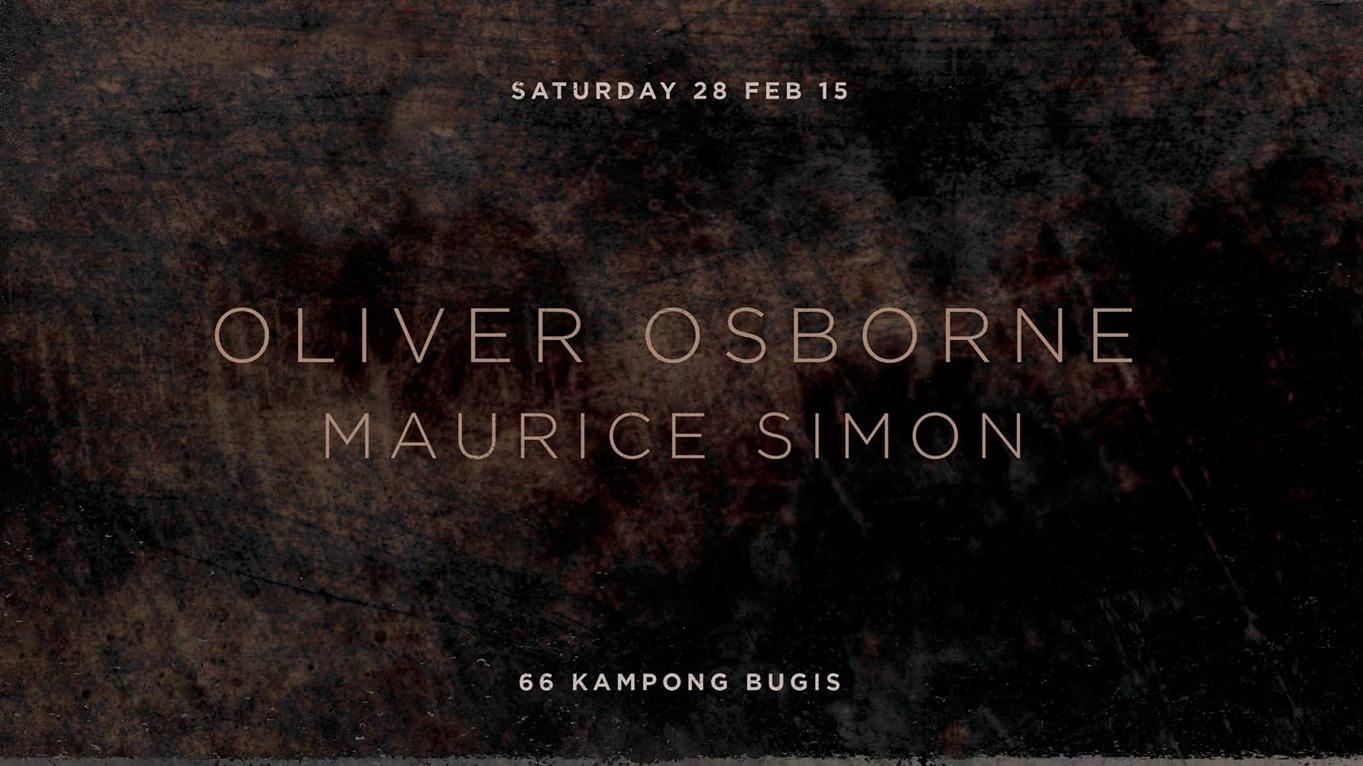 After Dark Presents... Oliver Osborne & Maurice Simon