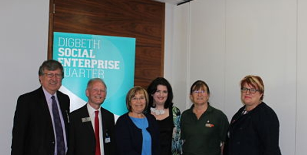 Steve Walker, Andy King, Lisa Rushton, Karen Leigh Anderson, Gill Winstanley, Sarah Crawley at Birmingham City Drive Social Investment Event.jpg