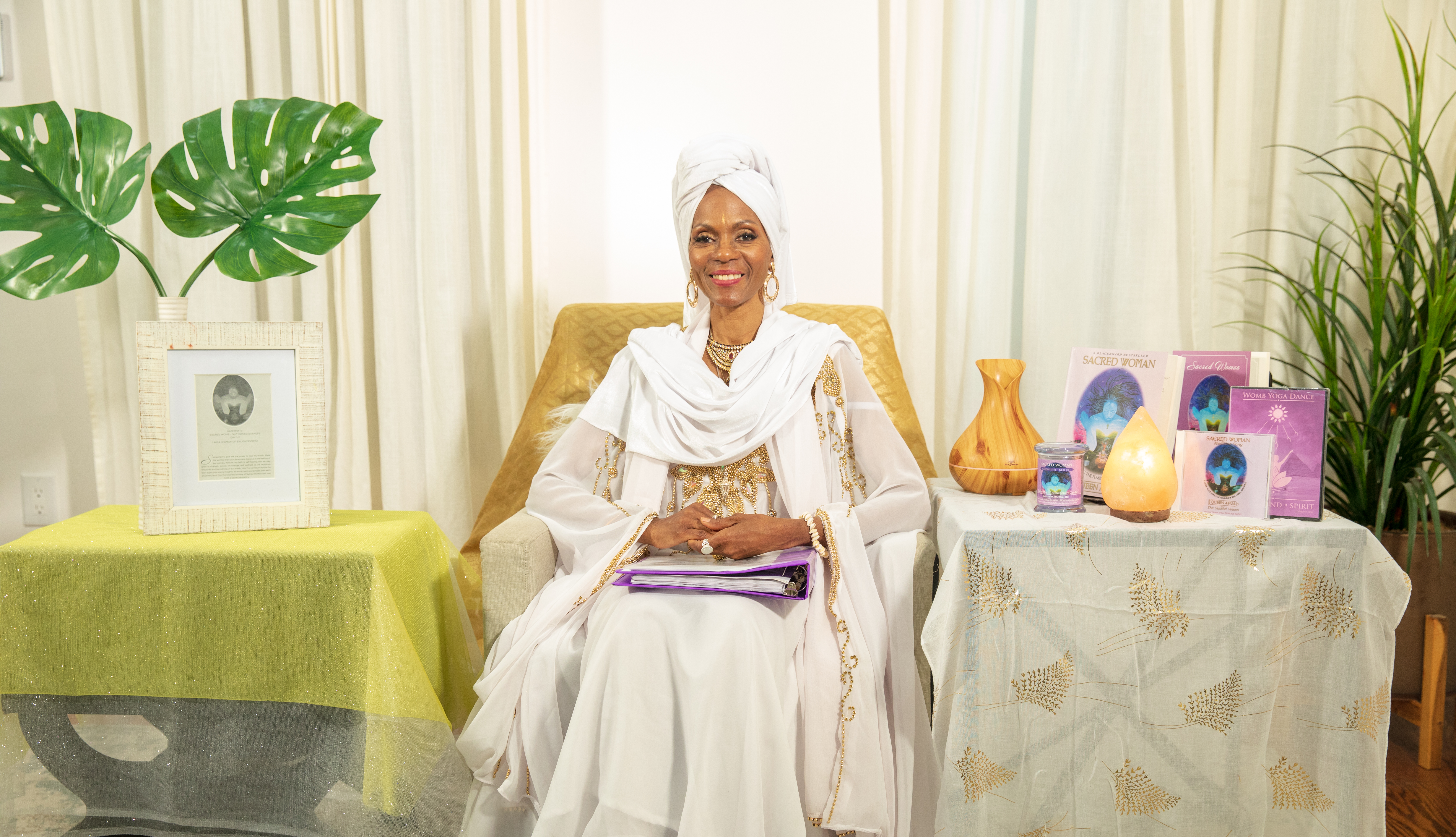 Sacred Woman | Queen Afua Wellness University