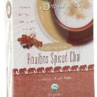 Rooibos Spiced Chai from Davidson's Organics