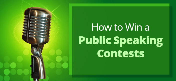 How to Win a Public Speaking Contests