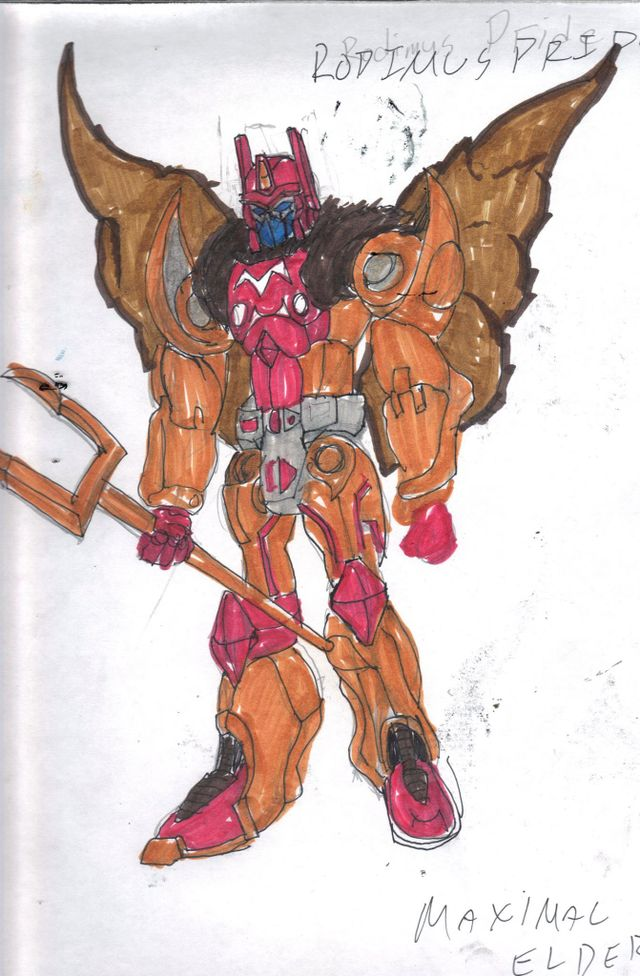 image: RODIMUS PRIDE; HEAD OF MAGNABOSS COUNCIL