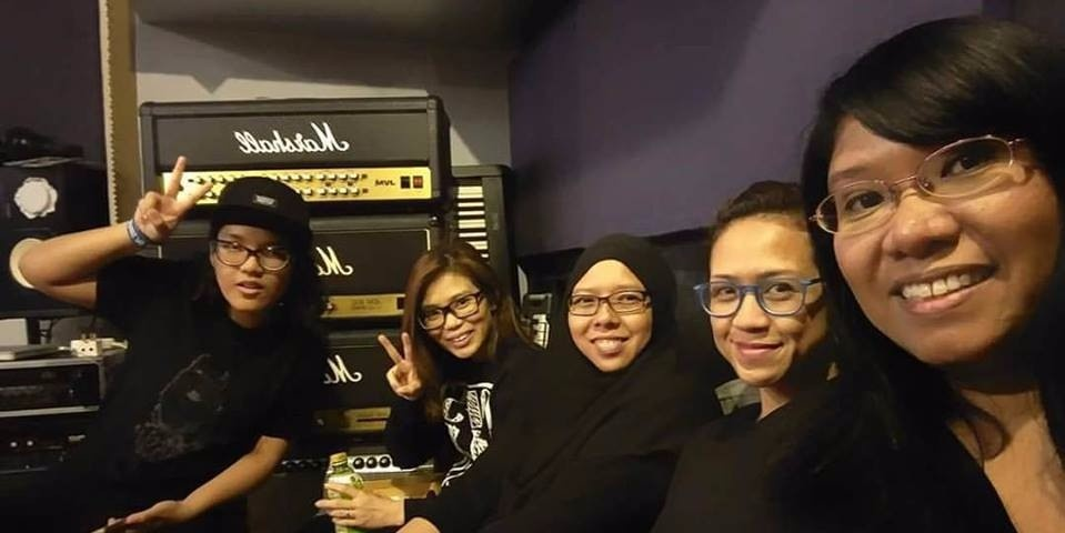 Singapore's first all-female hardcore band Obstacle Upsurge launches their debut EP