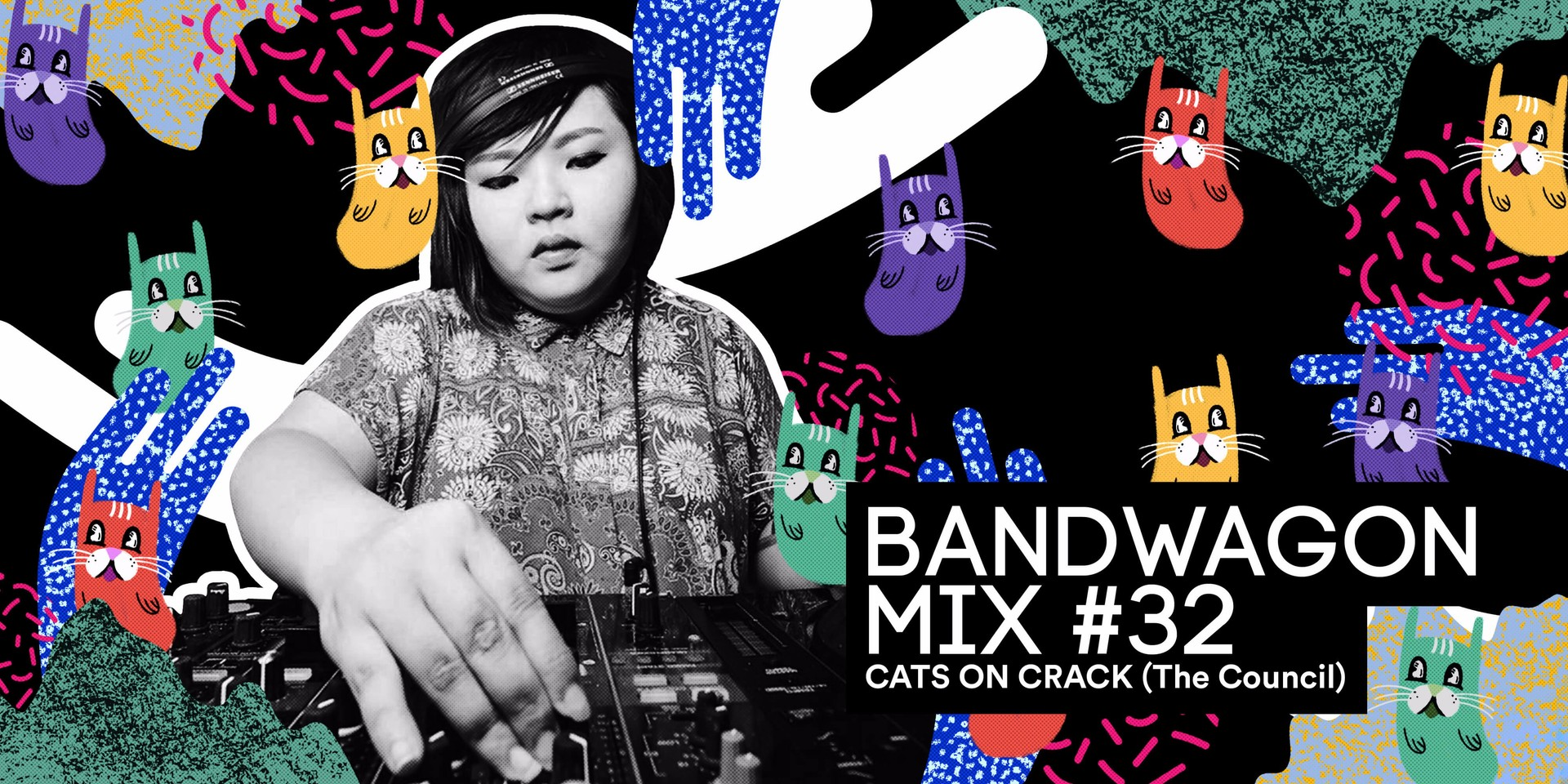 Bandwagon Mix #32: CATS ON CRACK (The Council)