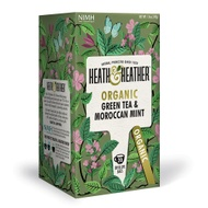 Organic Green Tea with Moroccan Mint from Heath and Heather