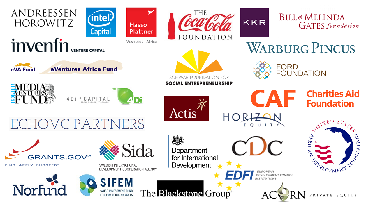 Organisations that give out funding every year