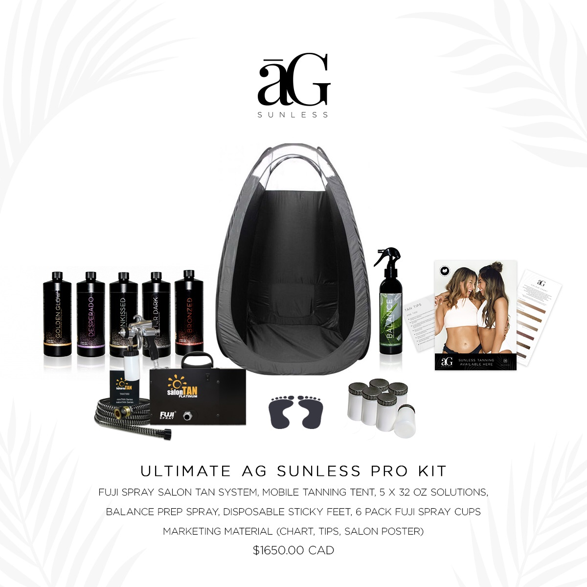AG Sunless Tanning Kits