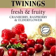 Cranberry, Raspberry and Elderflower from Twinings